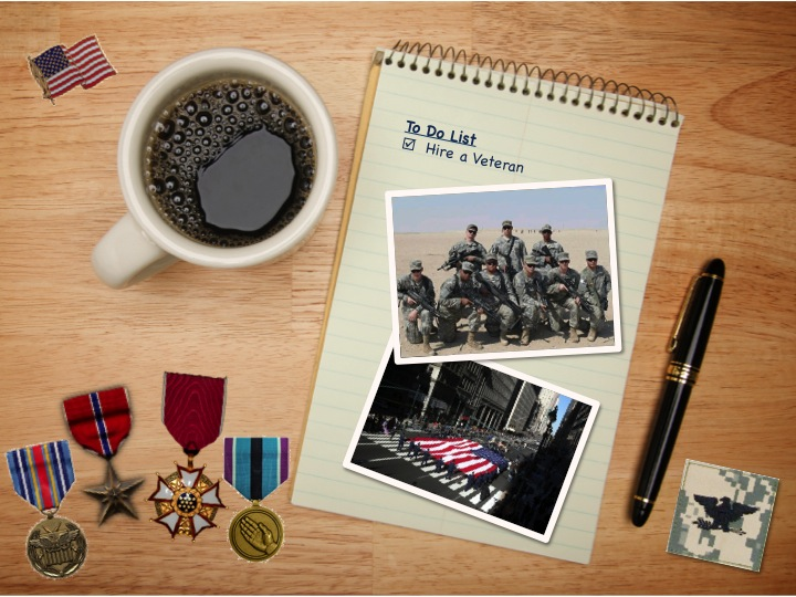 Veterans Day Coffee in Honor of Veterans Day Later
